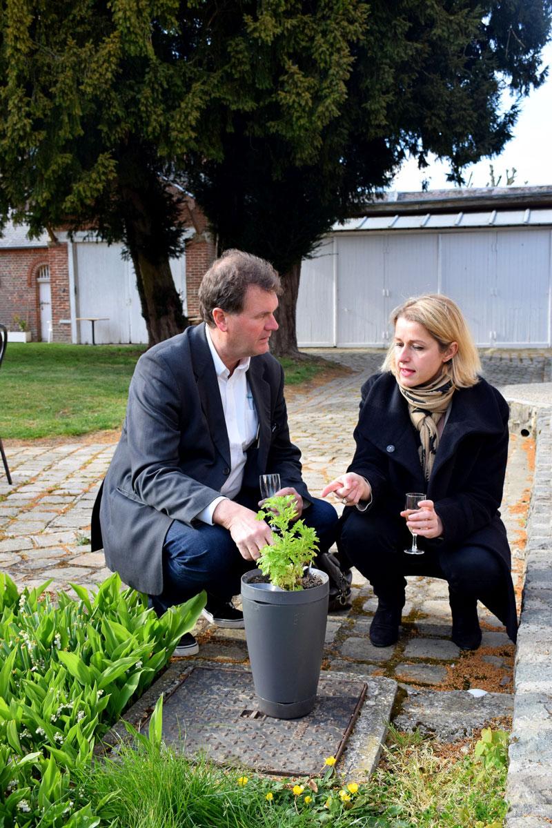François et Christine le jardin connecté